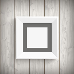Wall Mural - Picture Frame Wood