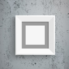 Wall Mural - Concrete Picture Frame