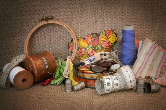 Couture-fond jute