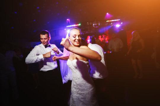 Beautiful wedding dance