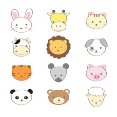 animal  cute set
