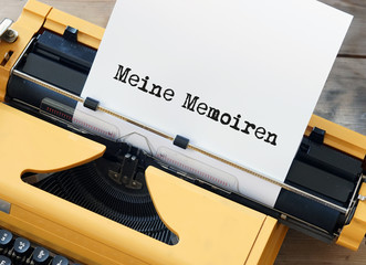 Meine Memoiren