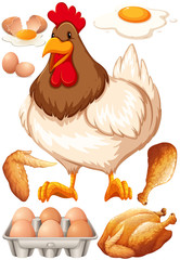 Chicken and chicken products