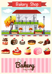Bakery shop and desserts