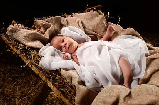 Baby Jesus on the Manger