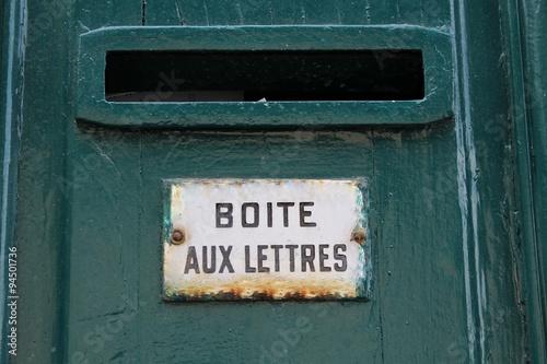 A paris comme ailleurs int gr e la porte d 39 entr e - Boite aux lettres sur porte d entree ...