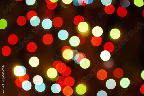 multicolored defocused bokeh blurry lights christmas lights fe