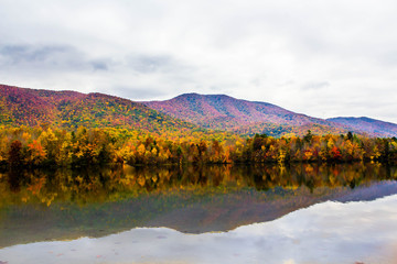 Foto auf Gartenposter Reflexion Great Smokey Mountains 20