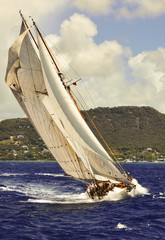Classic Sailing Yacht,