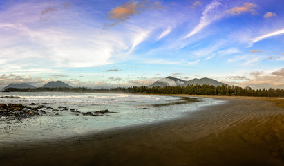 Sunset, British Columbia, Tofino