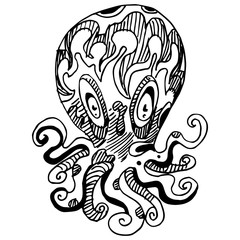 Wierd Octopus