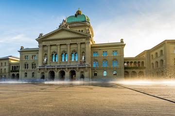 Wasserspiel vor dem Bundeshaus, Bern