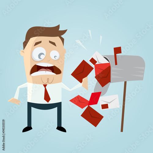 Mahnung Zahlungserinnerung Briefkasten Stockfotos Und Lizenzfreie