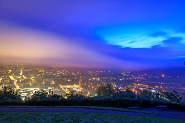 Fototapete - Bath city skyline