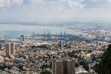 Haifa from Yefe Nof promenade