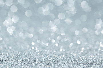 White shiny glitter holiday amazing background