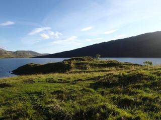 Fotoväggar - See in Schottland