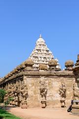 Gopuram Hindu temple Kanchipuram