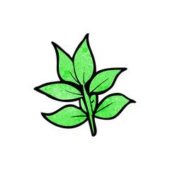 cartoon leaves
