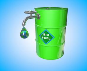 Biofuel barrel concept