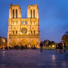 Fototapete - Cathédrale Notre Dame de Paris, France