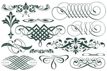 Vector template. Advertisements, flyer, web, wedding  and other