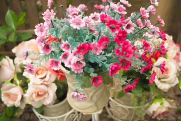beautiful artificial flowers