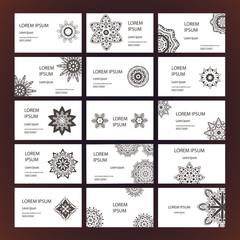 Mandalas business card