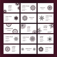 Mandalas business card 2