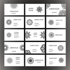 Mandalas business card 3