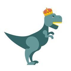 Tyrannosaurus Dinosaur King. T-Rex most important prehistoric mo