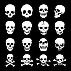 Human Skull Icons