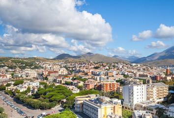 Gaeta town, Italy. Coastal town cityscape