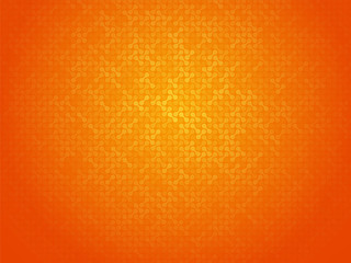 abstract orange linking dots background Fotomurales