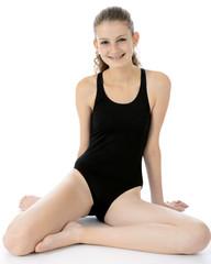 Teen in Swimwear für Wassersport und Schwimmen