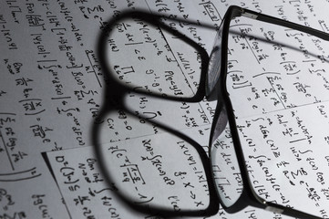 Glasses on mathematical formulas