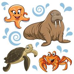 Sea animals 001
