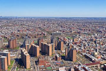 Aerial view of Prospect Park in Brooklyn
