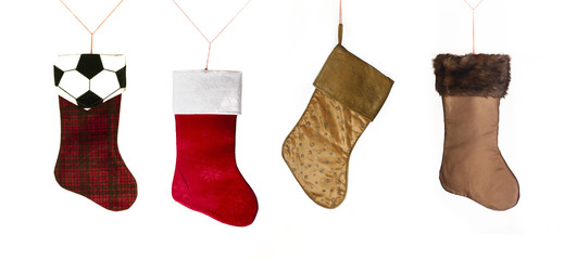 Holiday Christmas Sock Decoration