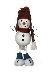 Holiday Christmas Snowman Decoration
