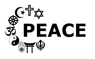 Peace Religious symbols