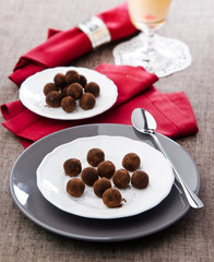 chocolates truffle