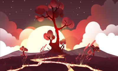 Red Planet - Scene Design