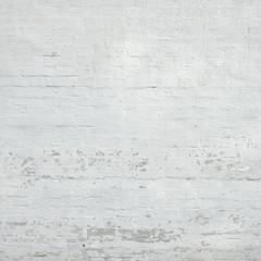 Vintage White Brick Wall Texture