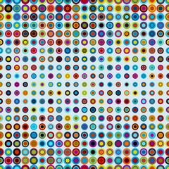 dots seamless pattern geometric