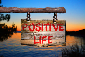 Positive life sign