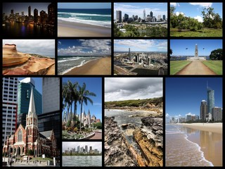 Australia - travel collage
