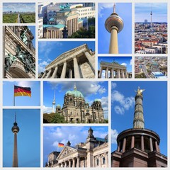 Berlin, Germany - travel collage