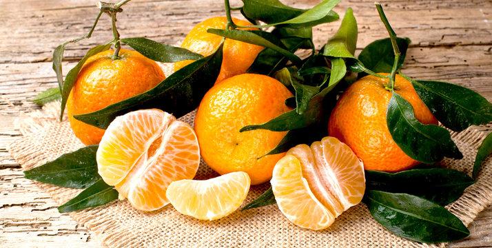 Frische Bio Clementinen
