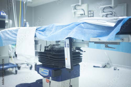 Orthopedics Surgery Hospital Operating Room Bed Stock Photo And